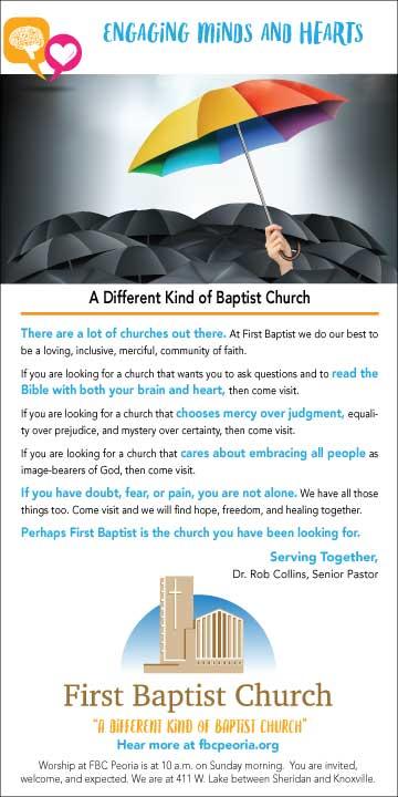 First Baptist Church Diversity Ad