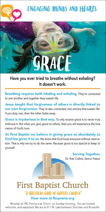 First Baptist Church Grace Ad